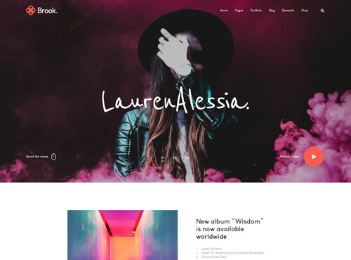 landing-page-home-indie-musician-preview